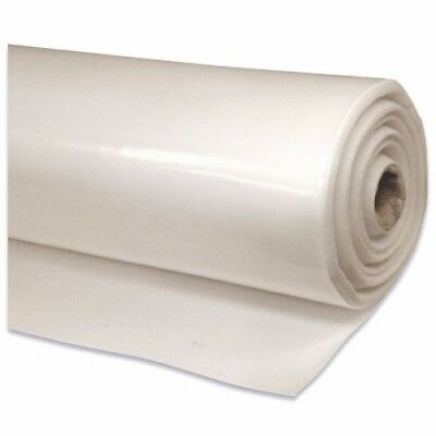 2m Wide Builders Film Poly Clear Plastic Sheeting  100 micron Medium Impact