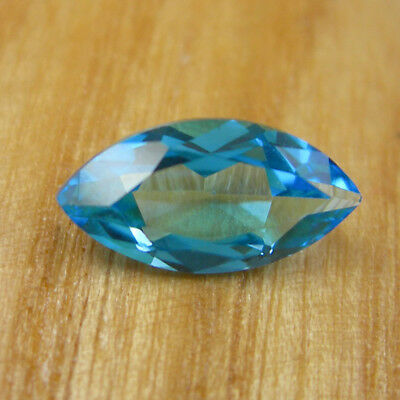 Marquise 12x6mm Cut Swiss Blue Topaz Loose Natural Loose Gemstone, 2.14 carats