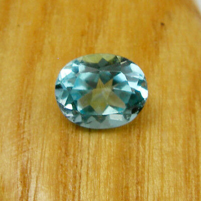 Oval 10x8mm Faceted Cut Swiss Blue Topaz Loose Natural Gemstone, 3.30 carats