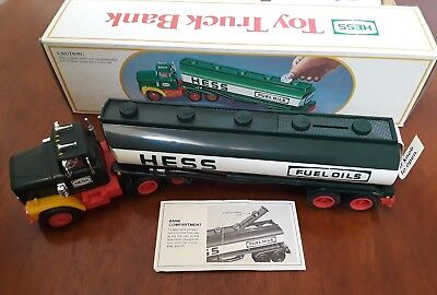 Vintage Hess Toy Truck Bank