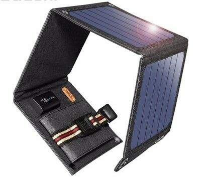 SunPower 14W Portable Solar Cells Charger 5V 2.1A USB Output Devices for laptop