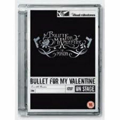 BULLET FOR MY VALENTINE - THE POISON-LIVE AT BRIXTON NUEVO DVD (DAÑADO Estuche)