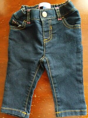 3f0e48a1bc0fad BABY GIRL CARTER'S Top Tank & Old Navy Denim Leggings Jeggings Size ...