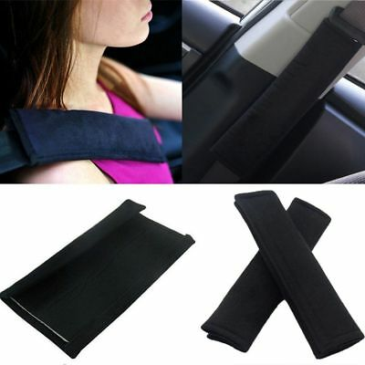 2Pcs New Cushion Soft Safety Shoulder Strap Harness Covers Car Seat Belt Pads