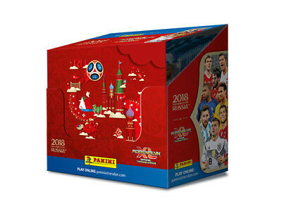 2018 FIFA RUSSIA World Cup Official Trading Card, ADRENALYN XL Packets PANINI