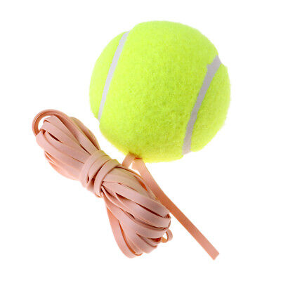 Training Ball with Elastic Rope for Tennis Trainer Beginners Single Practice