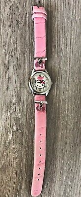 Hello Kitty Ladies Sanrio Wristwatch with A New Battery