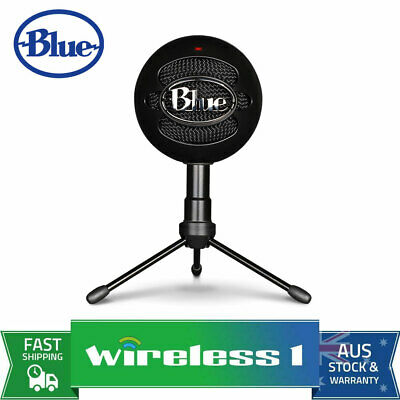 Brand New Blue Microphones Snowball iCE USB Microphone with HD Audio - Black