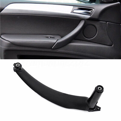 OEM#51419150336 Right Inner Door Panel Handle Outer Trim for 04-12 BMW Gray