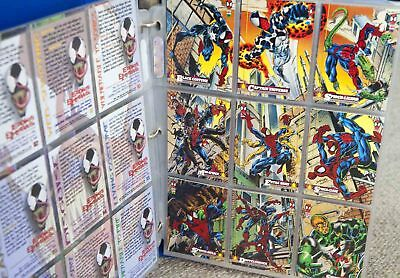 Spiderman Fleer Trading Cards 150 includes Checklist Card Comics $1.00 each Post