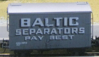 QR's Advertising HO Scale 'ABG' Wagon Decals BALTIC SEPARATORS