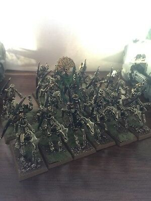 OOP Tomb Kings Skeleton Horseman Archers x 14 - Warhammer Age of Sigmar