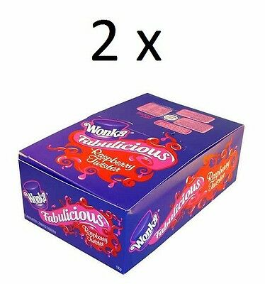 2 x Wonka Raspberry Twists (90 twist candies) in each box, 1 kilogram each box