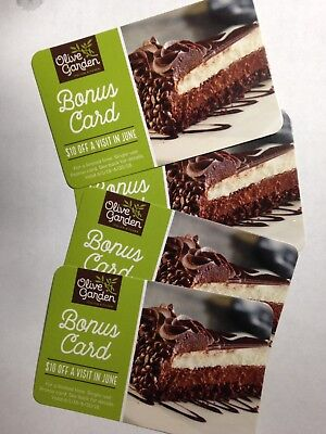 OLIVE GARDEN GIFT cards - use as many as you wish in one dine-in (4x ...