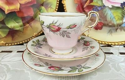 Vintage Paragon Fine Bone China Made In England Trio C1957+