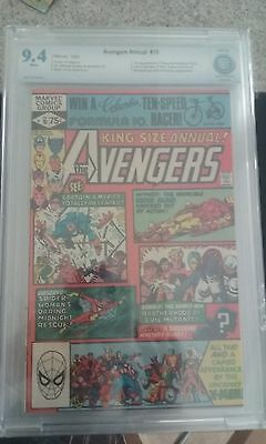 Avengers Annual #10 CBCS 9.4 White pages 1st App Rogue & Madelyne Pryor