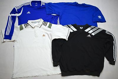 4 Adidas T-Shirt Pullover Sweater Polo Jump Top Vintage Casual Retro 90er 90s L