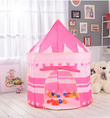 Children Tent Outdoor Indoor Use Castle Game Play Read Star Potable House Toy