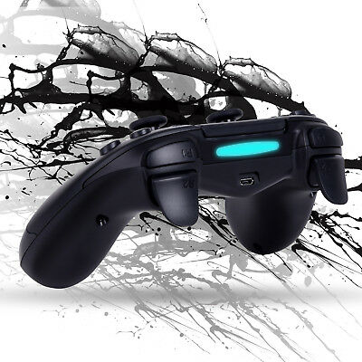 NEW Wireless Bluetooth Gamepad Remote Game Controller Touch Vibration For PS4 DE
