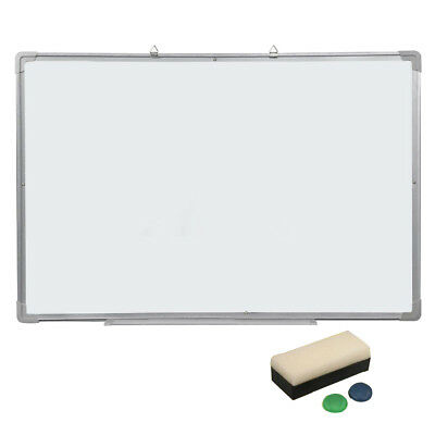 Magnetic Dry Wipe Whiteboard Eraser Memo Teaching Board Kitchen Office 500*350MM