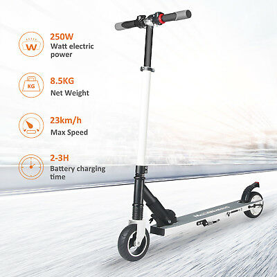 Megawheels Faltbar Elektroroller 250W Adult Rot Electric Scooter City Roller