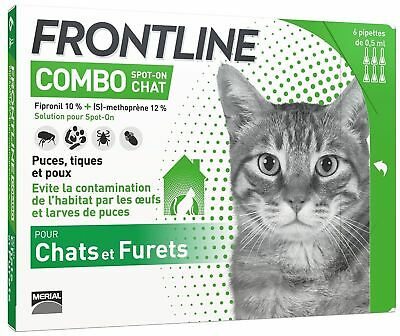 Frontline Combo Chat - 6 pipettes - Spot On
