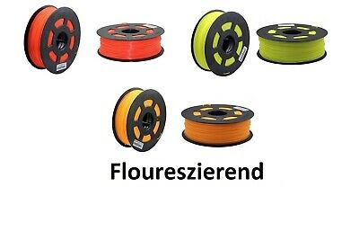 3D Drucker 1kg Filament  PLA 1,75mm Printer Rolle  Floureszierend Patrone