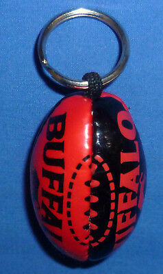 New WT Mini AFL Football Footy Supporters Key Ring Essendon Bombers 6.5 cm x 4cm