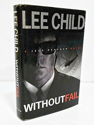 WITHOUTFAIL by LEE CHILD HCDJ - FIRST EDITION / FIRST PRINT - SIGNED COPY