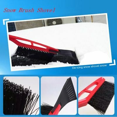 Multifunctional Removal Car Ice Scraper Snow Brush Long Handle Cleaning Tools