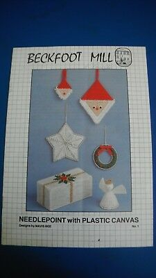 Beckfoot Mill Needlepoint With Plastic canvas Designs By Mavis Bee No. 1