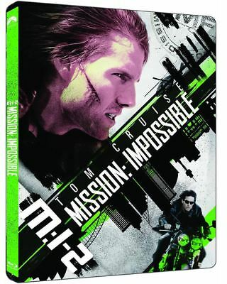 """""""Mission: Impossible 2 """"  Blu-ray STEEL BOOK (4K UHD+BD)"""