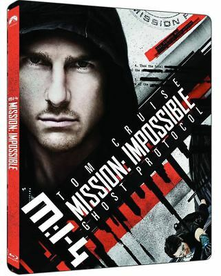 """""""Mission: Impossible: Ghost Protocol """"  Blu-ray STEEL BOOK (4K UHD+BD)"""