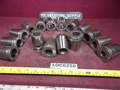 Lot Of 16 Universal Eng. Acura Grip Mill Collets  Loc6250