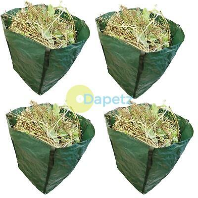 4 x Large Garden Waste Recycling Tip Bags Heavy Duty Non Tear Woven Plastic Sack