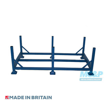 Double Width Metal/Steel Post Stillage (Pallet) - Made in the UK