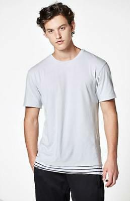 71c9a3b0 NEW PACSUN MENS Morelli Extended Length Layer T-Shirt - $24.95 ...