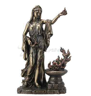 Hestia Greek Goddess of the Hearth and Domesticity Figurine Sculpture Statue
