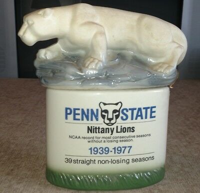 Penn State Decanter Michters 1977 With Box