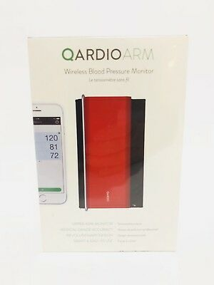QardioArm A100-ILR Wireless Blood Pressure Monitor - Lighting Red NEW SEALED