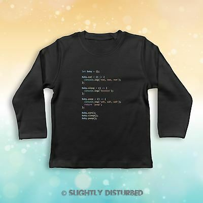 Javascript Coding Baby Long Sleeve T-Shirt