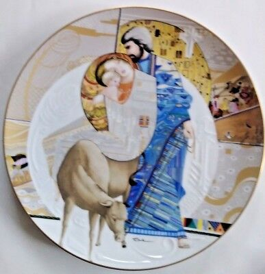 """Knowles """"Bibical Mothers"""" Collector's Plate """"Mary and Jesus""""-Religious-Christian"""
