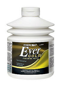 Evercoat EVER GOLD PUTTY  FIB 406  30OZ. FINISHING PUTTY NEW
