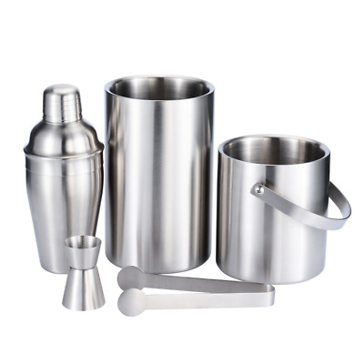 Stainless Steel Bar Set 5 Pieces Bartending Tools Cocktail Set Home Bar NEW HOT