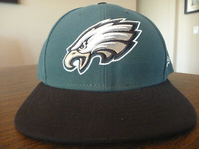 c078ad200 Philadelphia Eagles New Era 59Fifty Nfl Sideline Green Fitted Hat cap Size 7  5