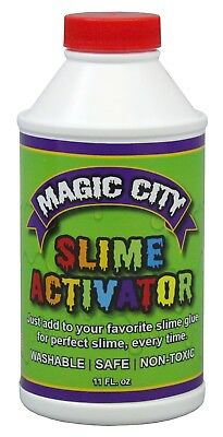 Magic City Slime Activator- Make Great Slime Every Time, Made in U.S.A. Safe