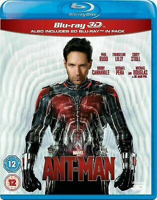 Ant-Man 3D [Blu-ray 3D + Blu-ray] New and Factory Sealed!!