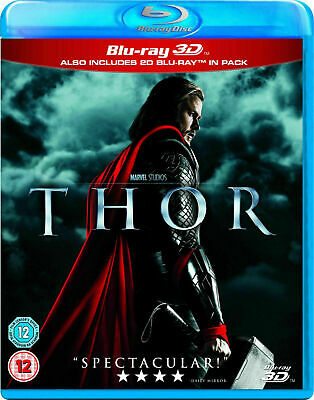 Thor 3D [Blu-ray 3D + Blu-ray] New and Factory Sealed!!