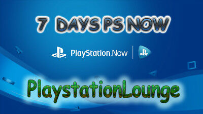 PlayStation Now 7-Day (1 Week) Trial For PS4 Ad Windows PC Or Laptop