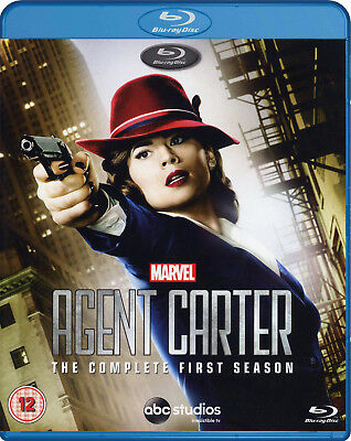 Agent Carter: The Complete First Season [Blu-ray] New and Factory Sealed!!